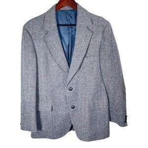 Pendleton Wool Sports Coat Suit Blazer Elbow Patch